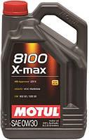 Моторное масло 0W-30 (5л.)MOTUL 8100 X-max