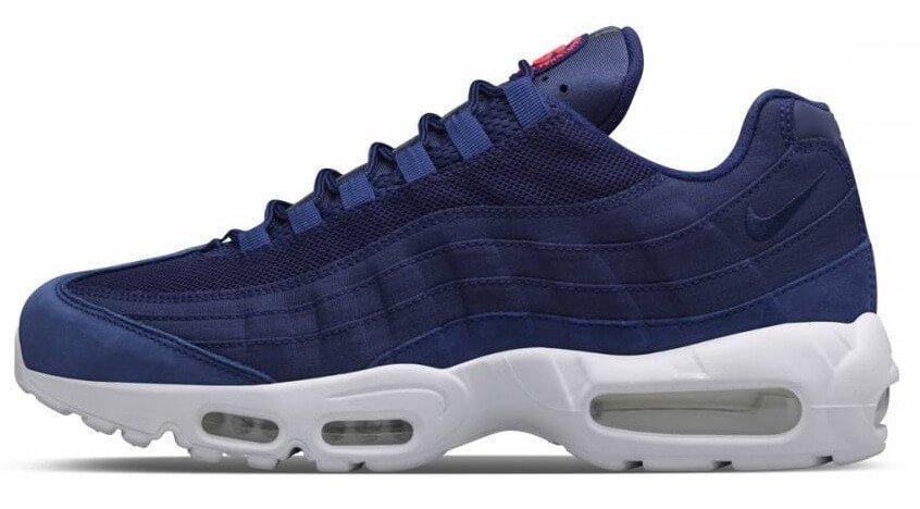 2f302c16 Кроссовки мужские Nike Air Max 95 Loyal Blue (в стиле найк аир макс 95)