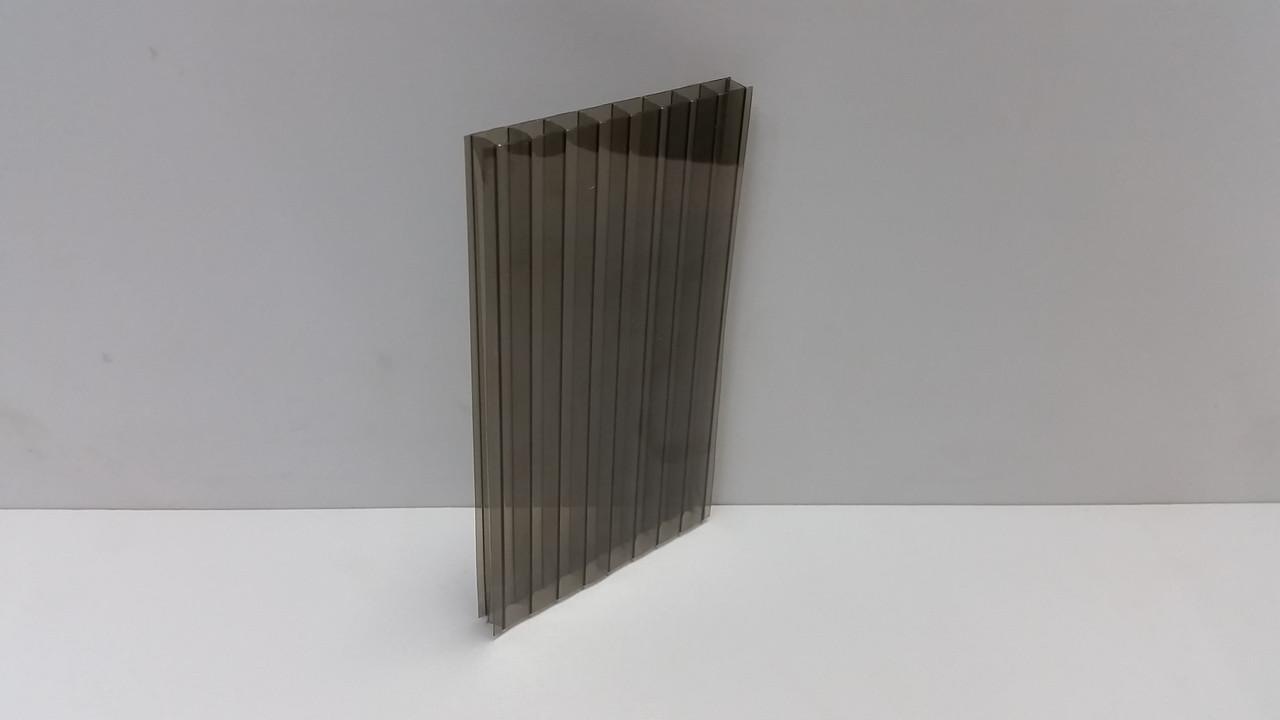 Сотовый поликарбонат 10мм бронза, фото 1