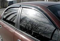 Дефлекторы окон клеющие Daewoo Lanos 97- (4 шт)