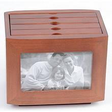 Фотобокс для фотографий деревянный Семейный WY6062
