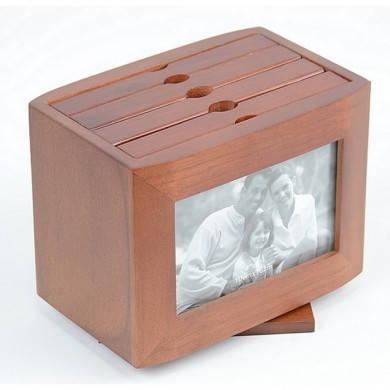 Фотобокс для фотографий деревянный Семейный WY6062, фото 2