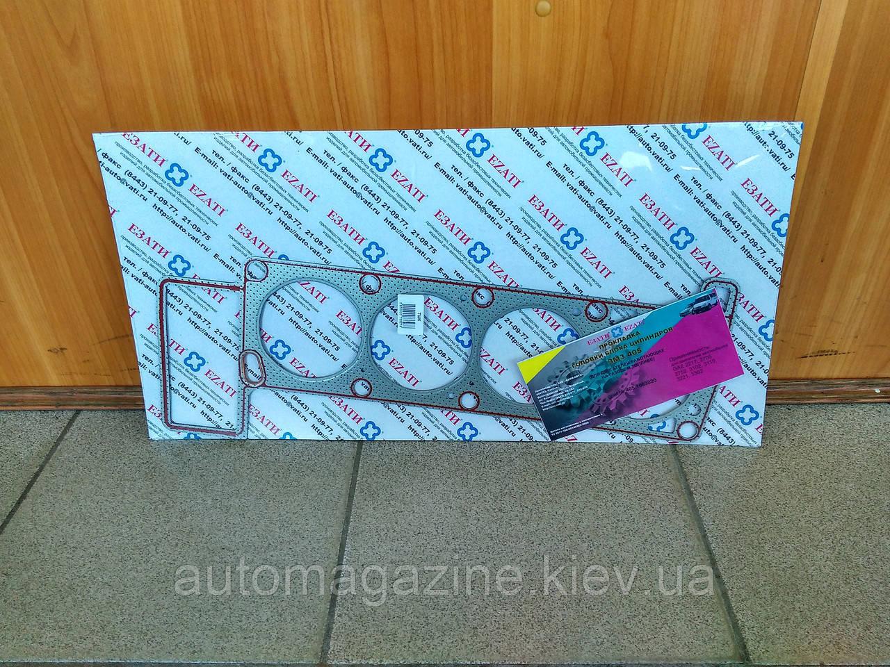 Прокладка головки блоку Газель 405 (металева)