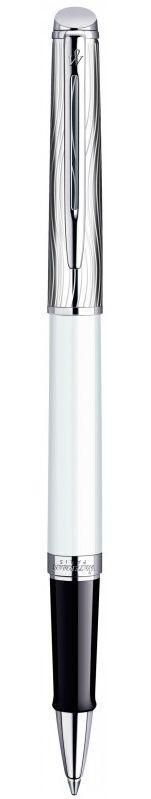 Фірмова ручка ролер Waterman Hemisphere Deluxe White CT RB 42 063 білий