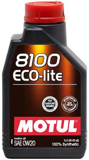 Моторное масло 0W-20 (1л.)MOTUL 8100 Eco-lite