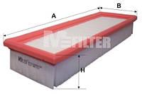 Фильтр воздушный M-Filter K217 (080 AP)
