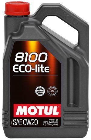 Моторное масло 0W-20 (4л.)MOTUL 8100 Eco-lite