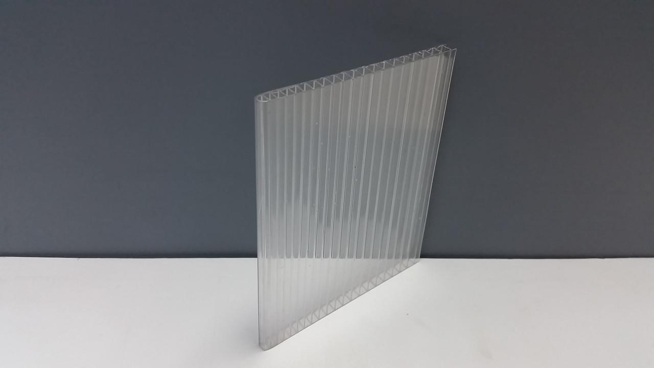 Сотовый поликарбонат 6 мм прозрачный, фото 1