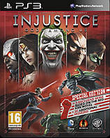 Injustice Gods Among Us Steelbook Special Edition ps3