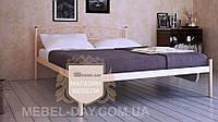 """Кованая металлическая кровать """"Верона"""" 180х200, Бежевый"""