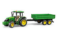 02108 Трактор JOHN DEERE 5115M с прицепом