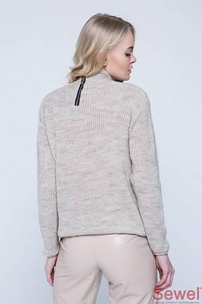 Вязаный женский осенний свитер, фото 2