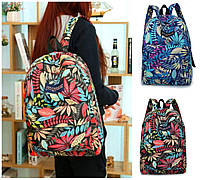 Рюкзак  женский городской кленовый лист школьный