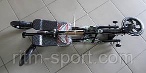 Трайк-самокат 3-х колесный складной TR-3201 SPEEDER (металл, колесо-PU, d-200мм, h-130*110см,АВЕС-7), фото 2