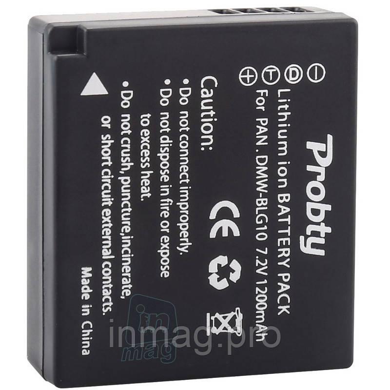 Аккумулятор Panasonic DMW-BLG10, 1200 mAh.