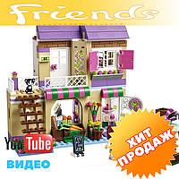Конструктор лего френдс Bela Friends 10495 Овощной рынок в Хартлейке (аналог LEGO Friends 41108), 389 дет