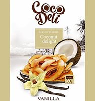"""Кокосові чіпси солодкі з ваніллю """"Coco Deli"""", 30г"""