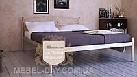 """Кованая металлическая кровать """"Верона"""" 120х190, Сатин"""