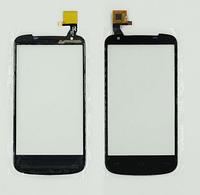 Сенсор (тачскрин) для Gigabyte GSmart GS202 черный
