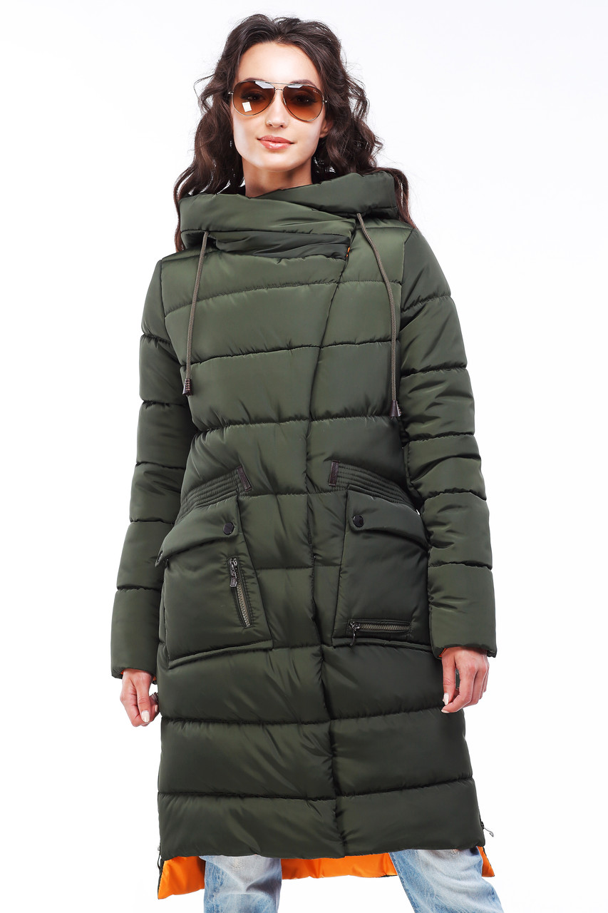 Молодежное женское пальто Рива  Nui very
