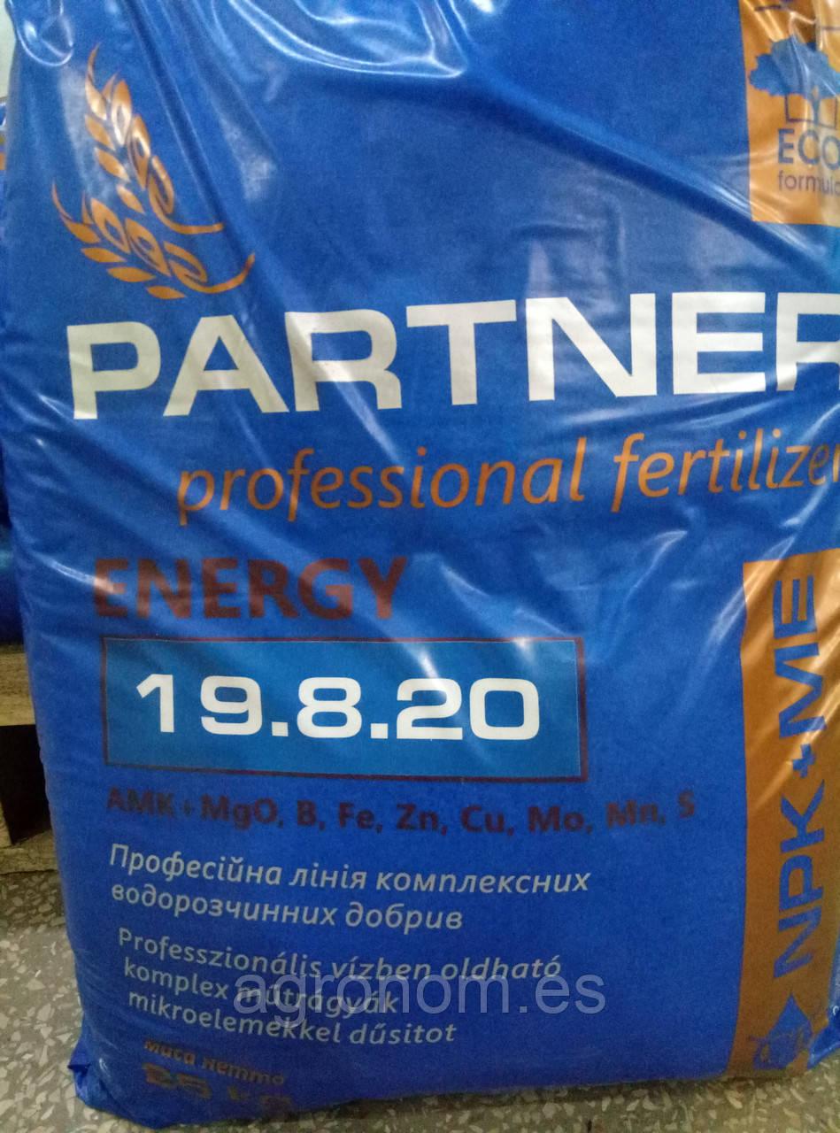 Партнер ENERGY NPK 19:8:20+AMK+ME 25 кг