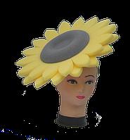Карнавальная маска из поролона Подсолнух