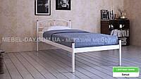 """Кованая металлическая кровать """"Верона"""" 90х190, Белый"""
