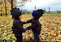 """Детская теплая куртка на флисе"""" Дракоша"""",в расцветках"""