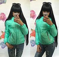Женская куртка демисезонная (бло)