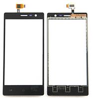 Сенсор (тачскрин) для Gigabyte GSmart Mika MX черный