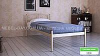 """Кованая металлическая кровать """"Верона"""" 90х200, Сатин"""