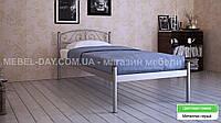 """Кованая металлическая кровать """"Верона"""" 80х200, Металлик серый"""