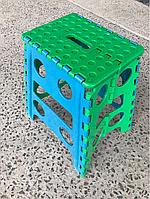 Стул складной пластиковый 42см