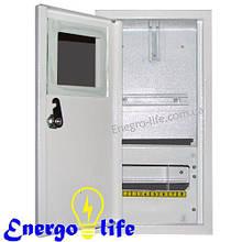 Шкаф монтажный распределительный ШМР-1Ф-8В, встраиваемый, для 1ф механических счетчиков