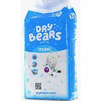 Dry Bears Soft&thin Подгузник 4 maxi (7-18кг),44 шт