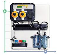 Автоматическая дозирующая система A-POOL SYSTEM PH-CL PVDF-PTFE-VT 5-5