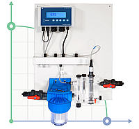 Станция дозирования и контроляCl-F P CONTROL PANEL (0-2 ppm)