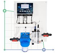 Система регулирования и контроляPH-CL-F CONTROL PANEL (0-20 ppm)