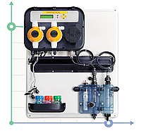 Автоматическая дозирующая система A-POOL SYSTEM PH-CL PVDF-PTFE-VT 10-4