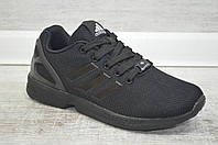 Женские черные кроссовки Адидас /Adidas ZX Flux/