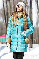 Модная зимняя женская куртка Гелана Nui very
