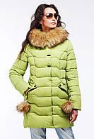Красивая зимняя женская куртка Гелана Nui very