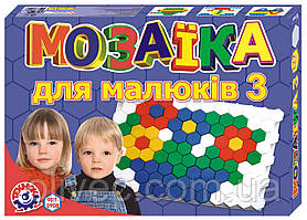 "Мозаика для малышей ""Технок"" № 3, 127 деталей"