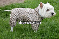 Комбинезон для собаки теплый  Мимоза