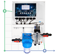 Система регулирования и контроля PH-RX-CL-F CONTROL PANEL (0-2 ppm)