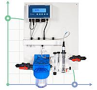 Система регулирования и контроля Cl-F P CONTROL PANEL (0-2 ppm)