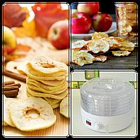 Сушилка для овощей и фруктов с терморегулятором Culinario