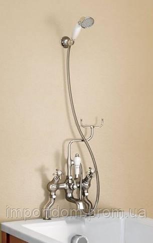 Смеситель для ванны Burlington с держателем для душа H228 Хром