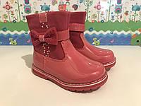 Детские ботинки на осень 21-26 Clibee