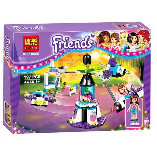 """Конструктор Bela 10556 """"Парк развлечений: Космическое путешествие"""" (аналог Lego Friends 41128)"""